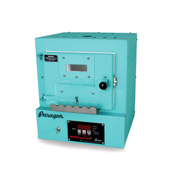 Paragon SC2 Programmable Kiln with Bead Door & Window - Turquoise