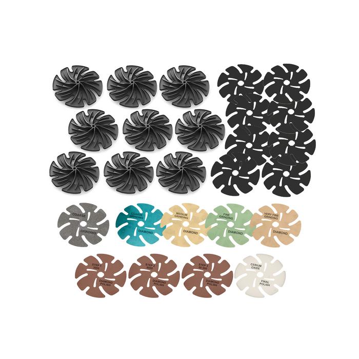 "JoolTool Add-on: 4"" Hard & Soft Stone Lapidary Kit"