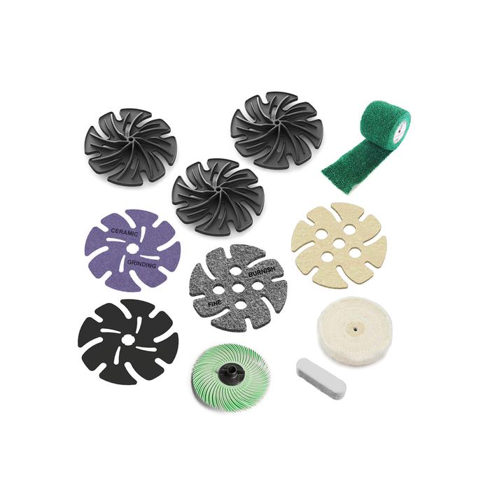"JoolTool Add-on: 4"" Metal Polishing Kit"