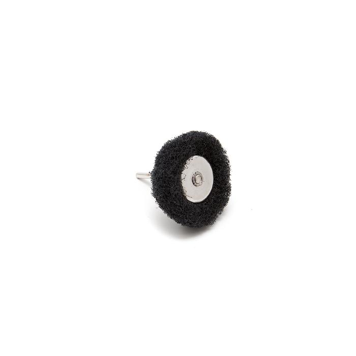 Abrasive Wheel Buff  - 60 Grit, Black, 38mm