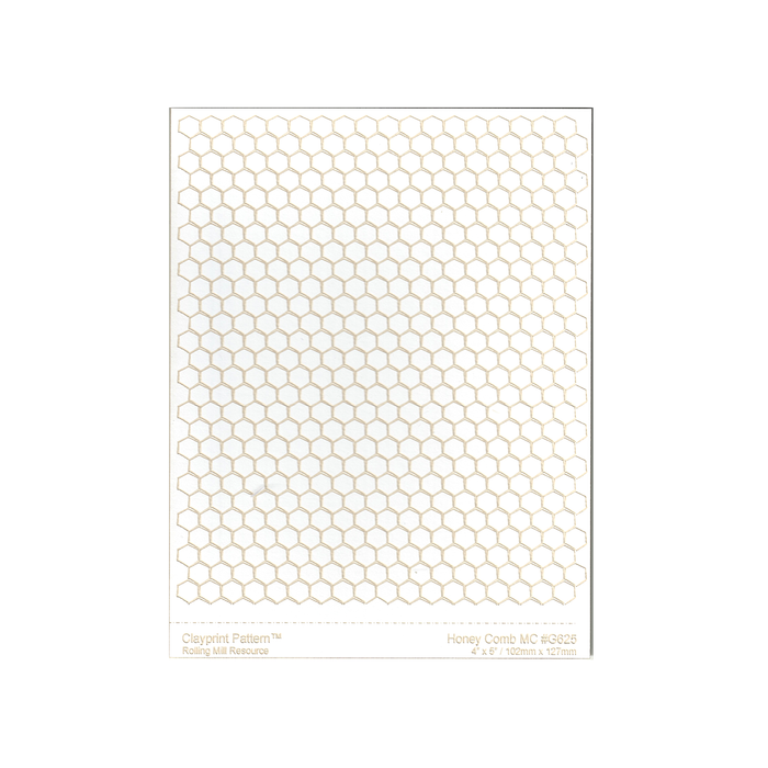 RMR Laser Texture Paper - Honey Comb - 102 x 127mm