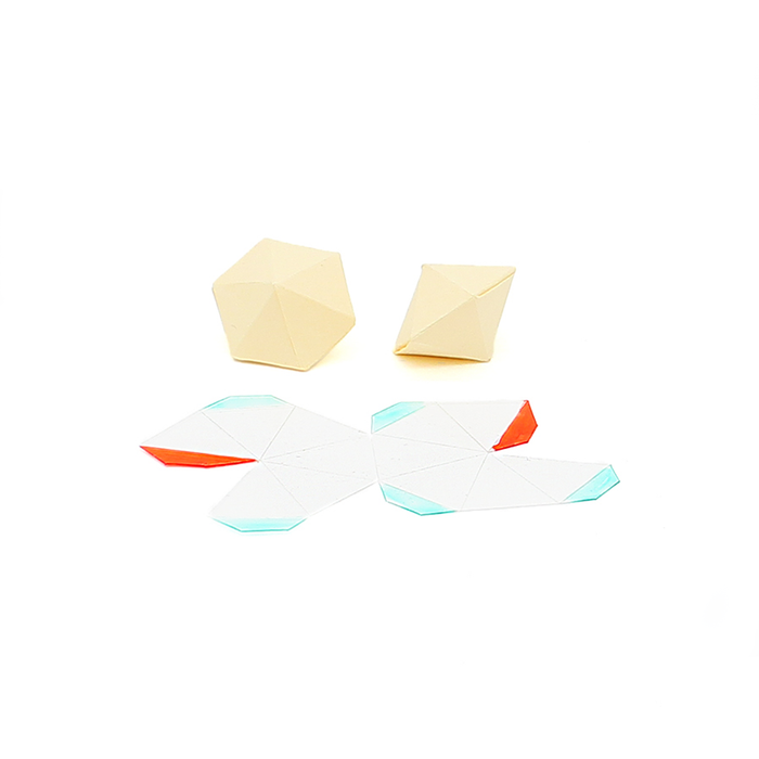 Wanaree Tanner Hollow Form System - Rondelle 12 sided Kit