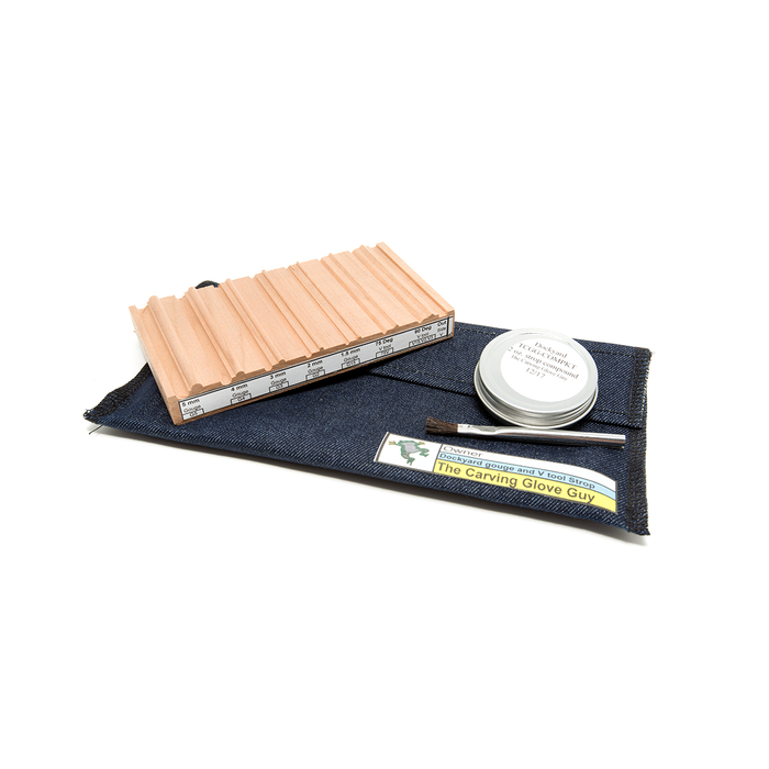 Dockyard - Sharpening Strop Set for Micro Carving Tools