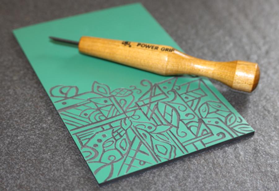 Carving Tool - V-Shape