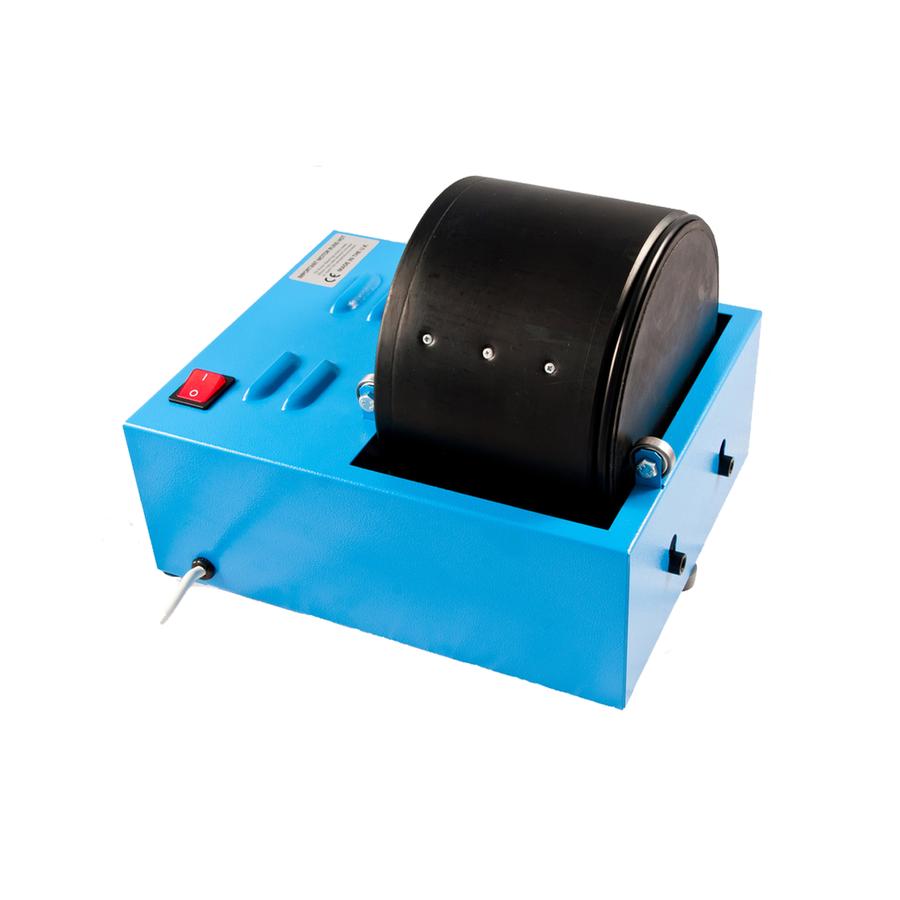 Large rotary metal polishing tumbler - 2.25kg/5lb