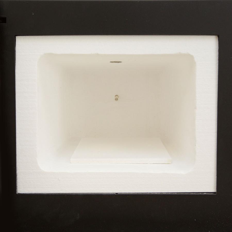 Includes a soft ceramic fibre kiln shelf.