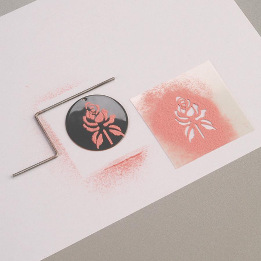 Efcolor Stencil Sheet - Roses