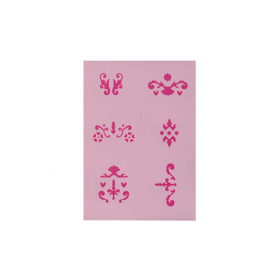 Efcolor Stencil Sheet - Ornaments - 6
