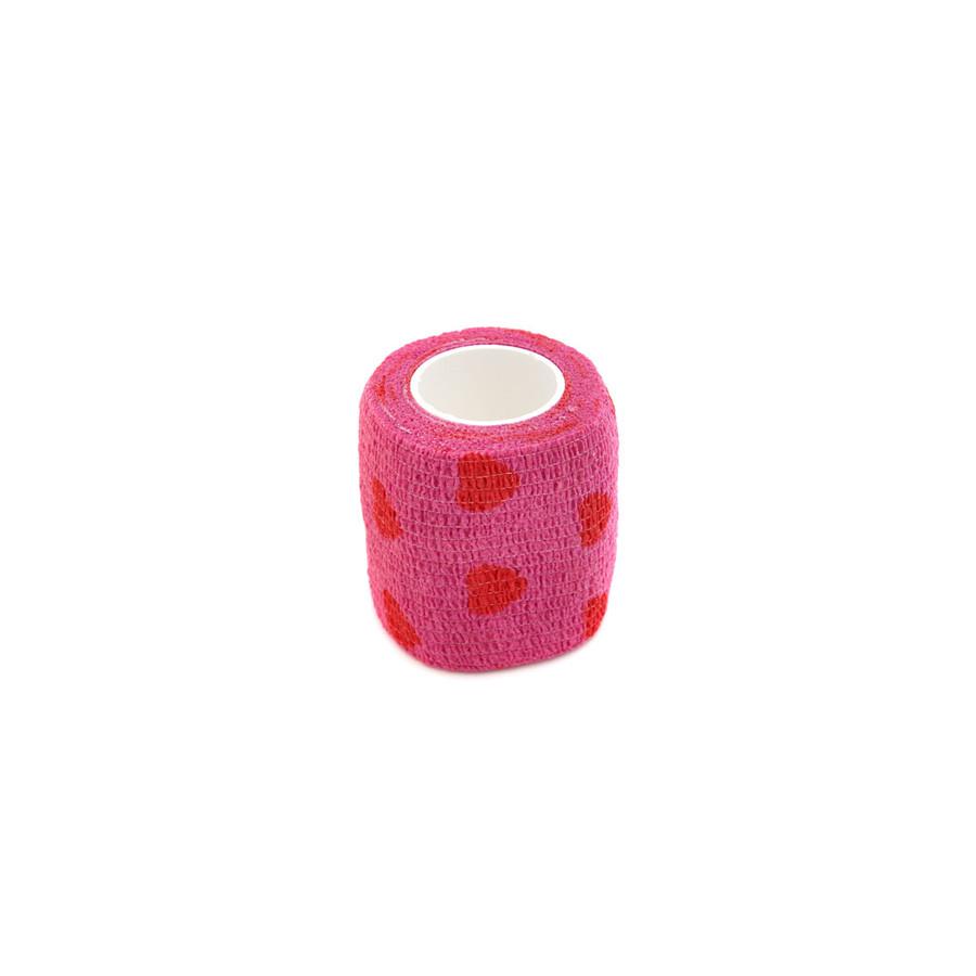 JoolTool Essentials: Protective finger wrap - Pink Hearts