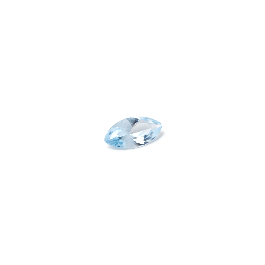 Lab Created Gemstone - Aquamarine Marquise 8 x 4mm (Non-fireable)