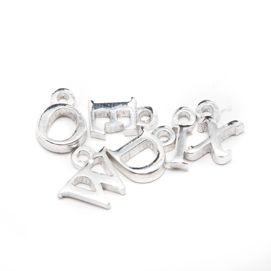 Silicone Alphabet Mould - Cursive