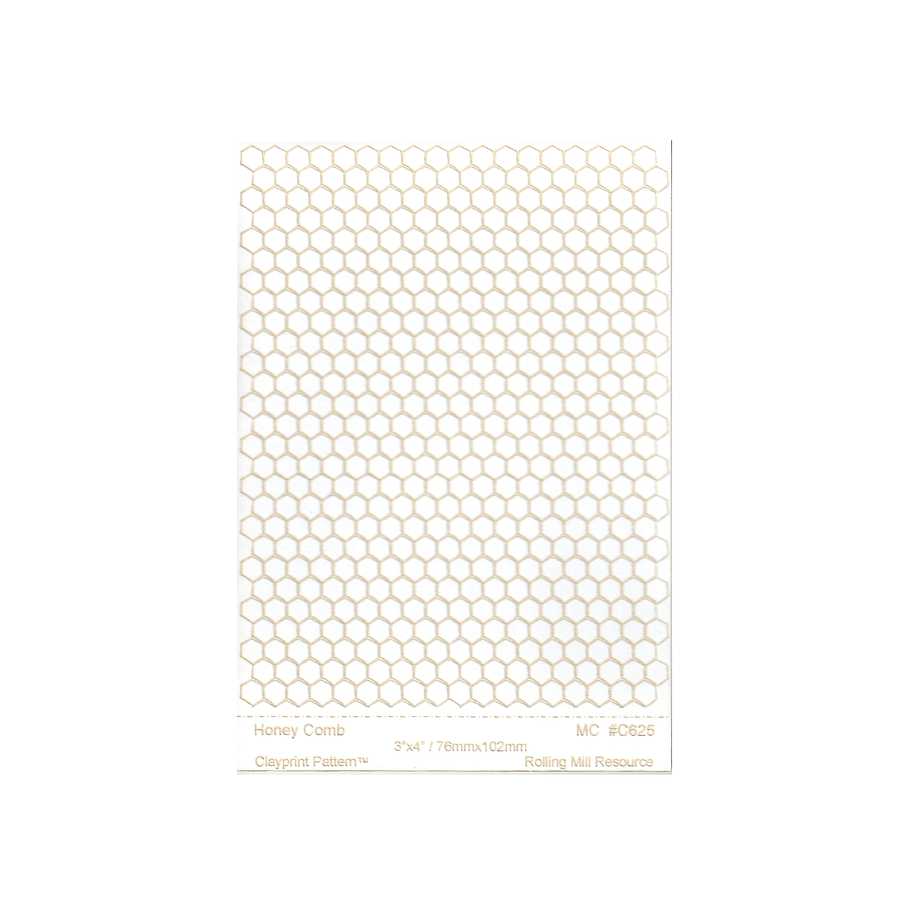 RMR Laser Texture Paper - Honey Comb - 76 x 102mm