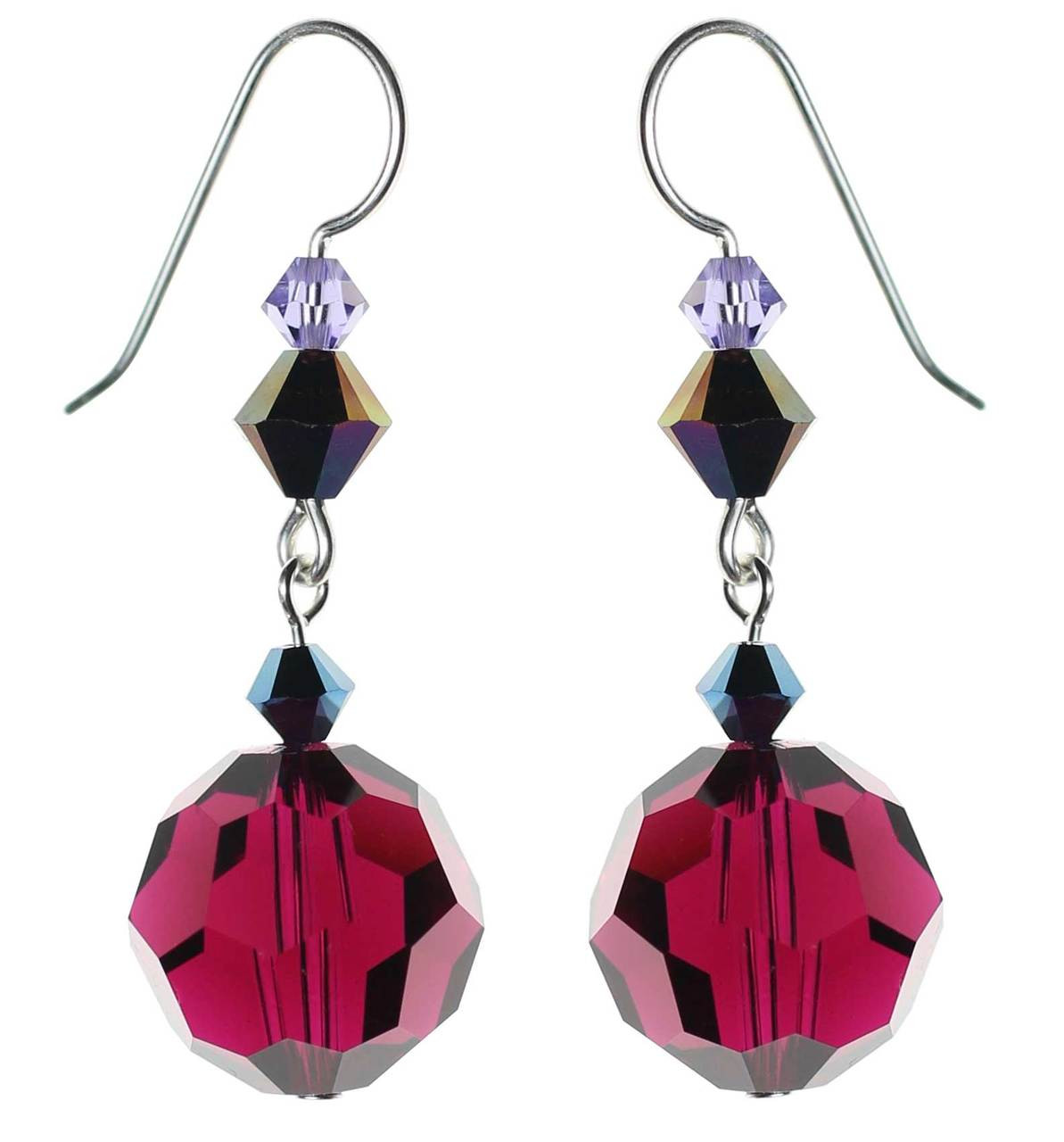 il earrings red teardrop listing crystal ruby