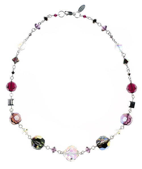 CHUNKY CRYSTAL NECKLACE • ROARING 20'S JEWLERY COLLECTION