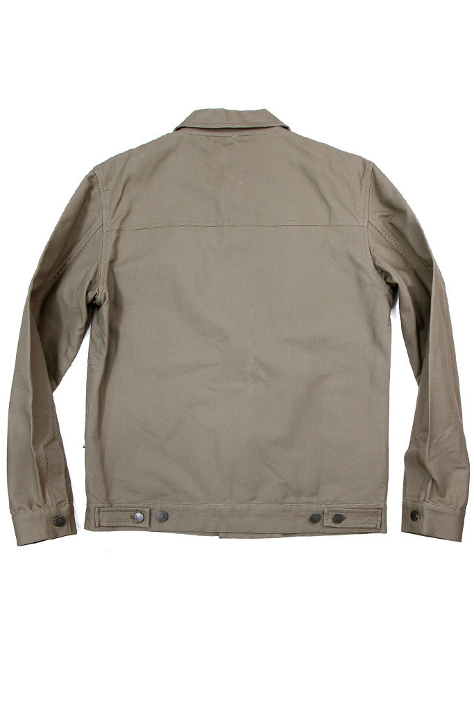 Knoll Khaki Canvas Jacket