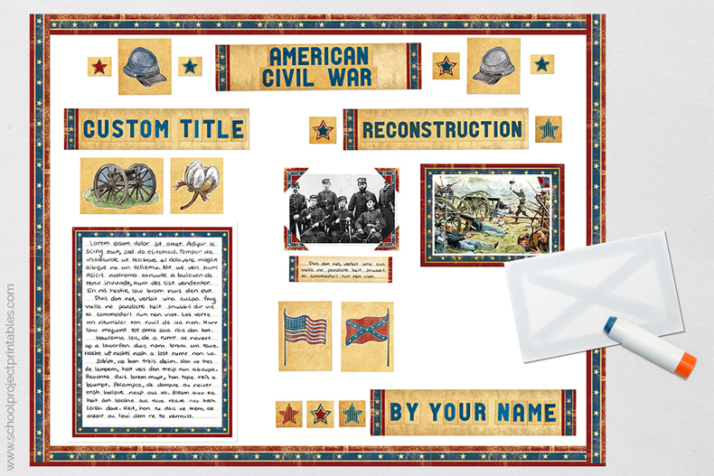 last steps in American Civil War tutorial.