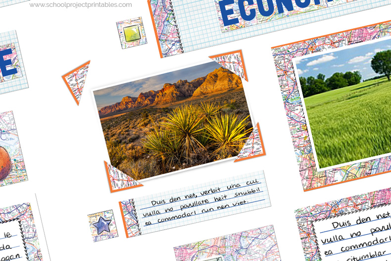 How to use photo corners on a State Report project