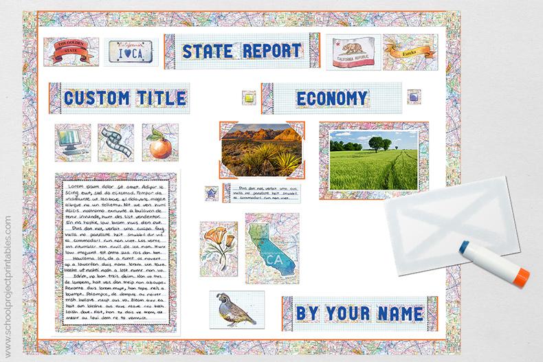 last steps in State Report tutorial.
