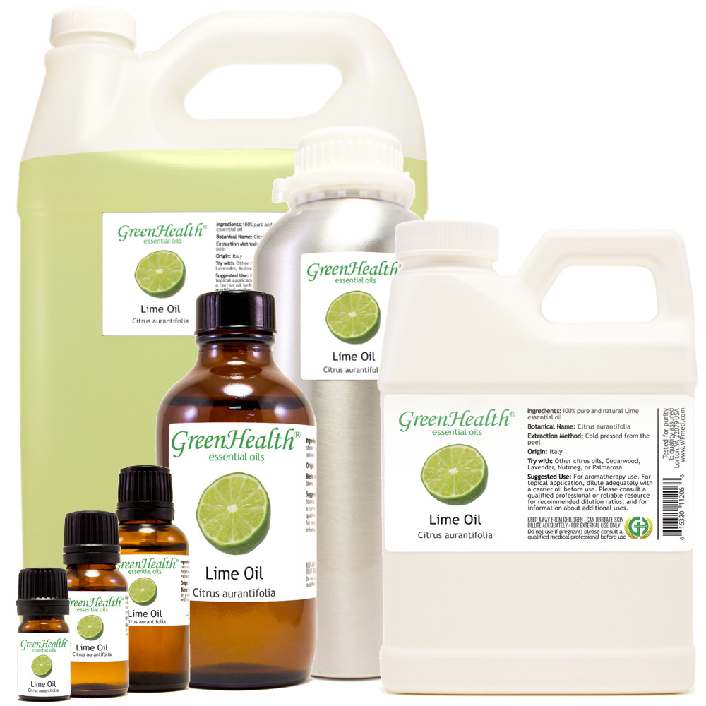 100% Pure Lime essential oil 5 ml to 32 oz starting $2.79