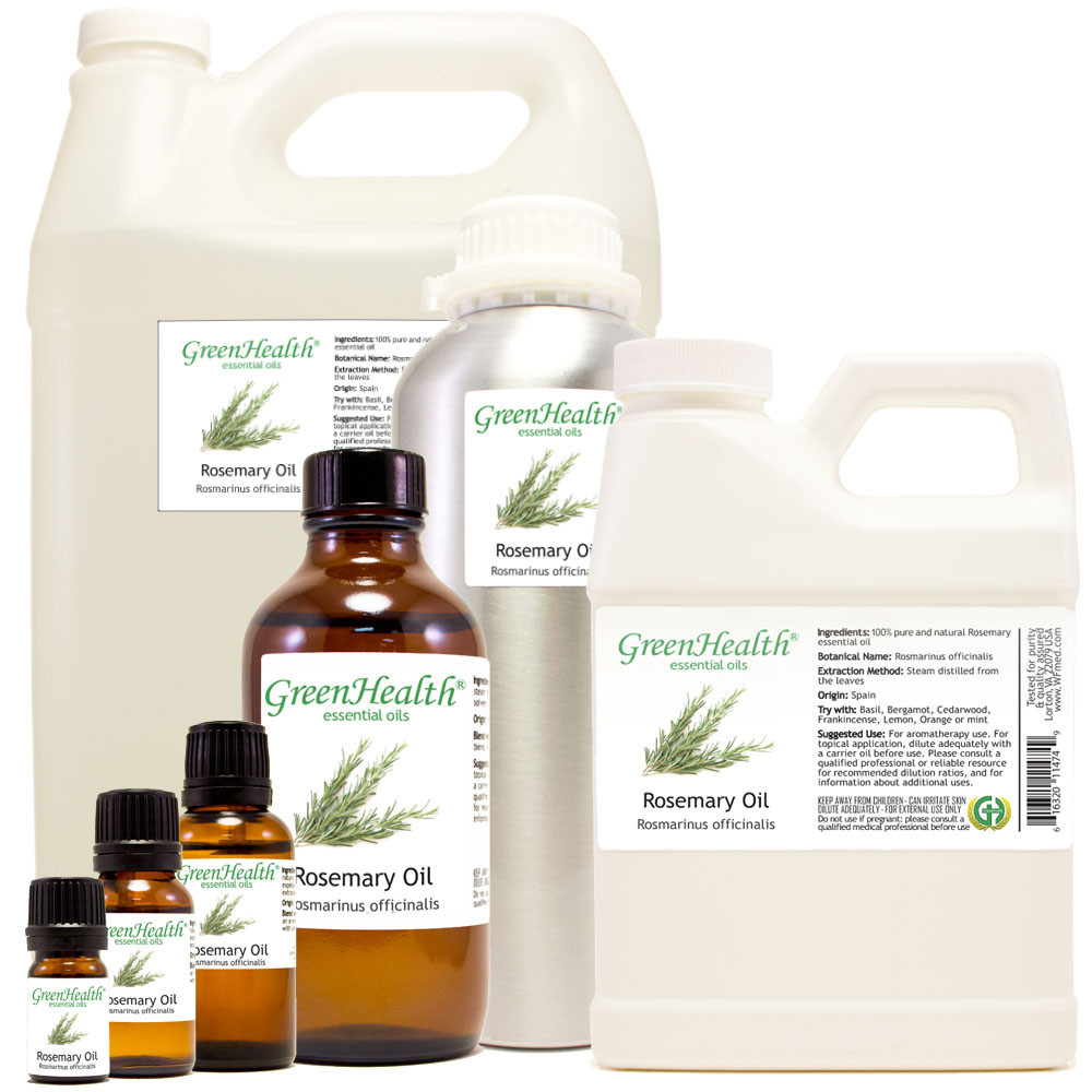 100% pure rosemary oil rosmarinus officinalis