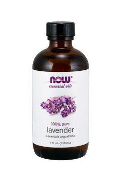 Now Foods Lavender oil 4oz 100% pure essential oil