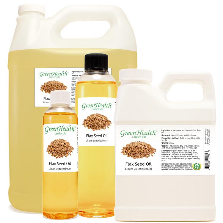flax seed oil 1oz 2oz 4oz 8oz 16oz 32oz