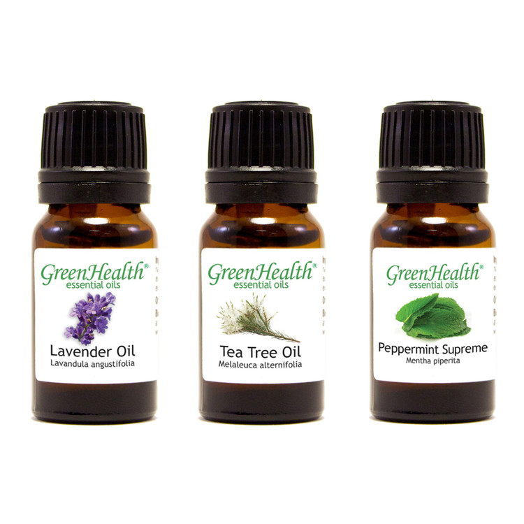 Top 3 Essential Oil Variety Set (3 15ml Essential Oils)