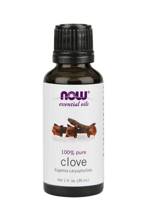 Now Foods Clove oil 1oz 100% pure essential oil