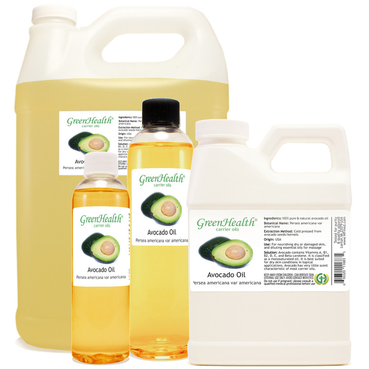 Avocado oil 1oz 2oz 4oz 8oz 16oz 32oz