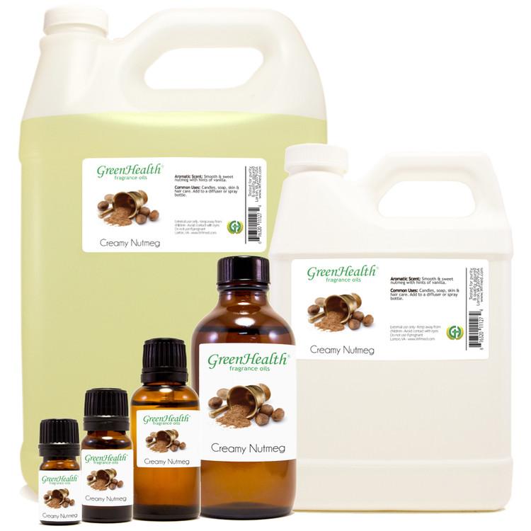 Creamy Nutmeg Fragrance Oil 10ml 1oz 2oz 4oz 8oz 16oz 32oz
