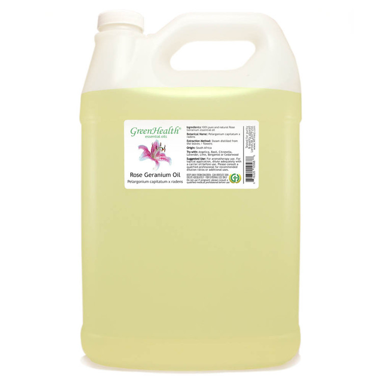 Rose Geranium Essential Oil (Bulk)