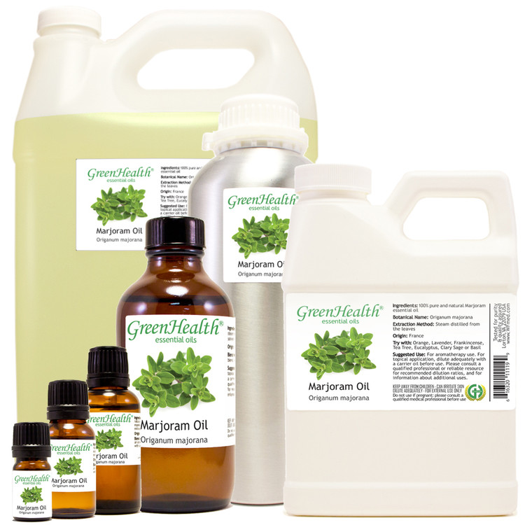 100% pure marjoram oil origanum majorana