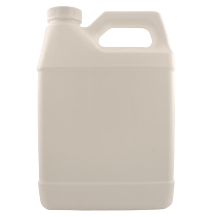 32 fl oz White Plastic Jug w/ White Cap