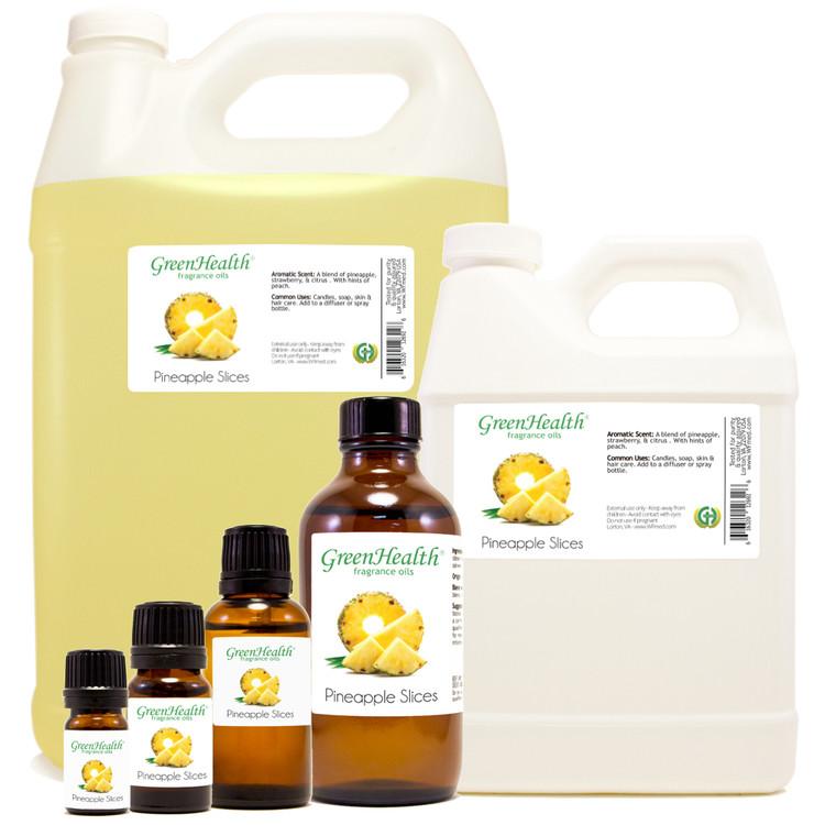pineapple slices fragrance oil 10ml 1oz 2oz 4oz 8oz 16oz 32oz