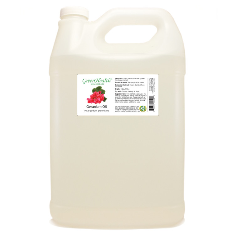 Geranium Essential Oil (Bulk)