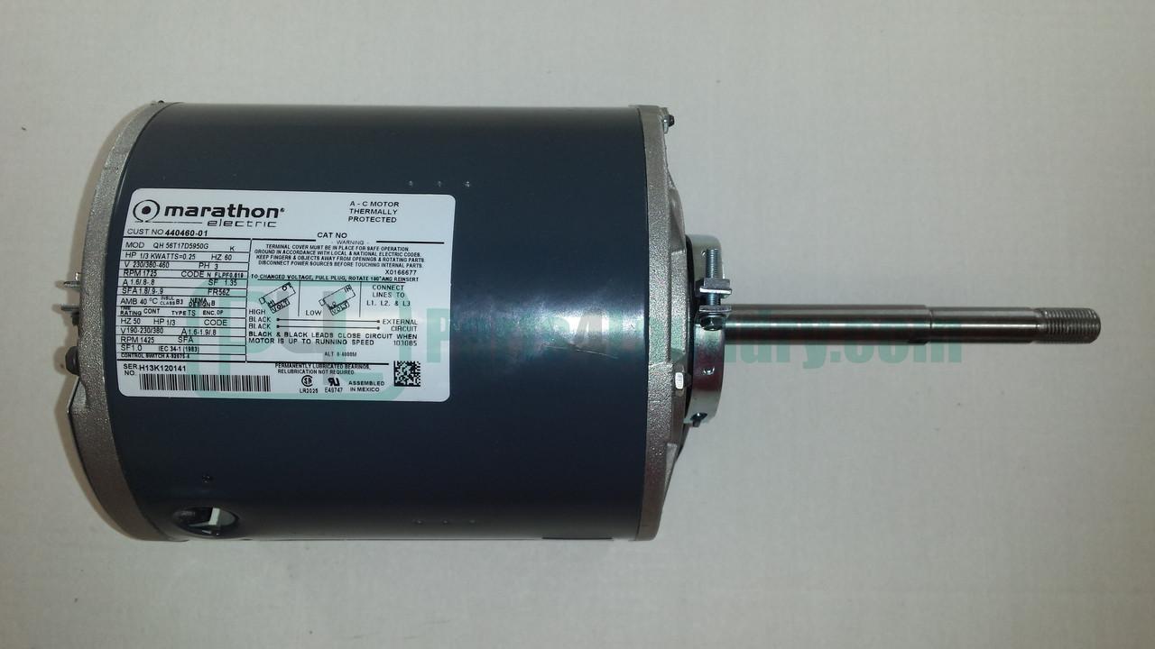44046001P Tumbler Motor Kit 1/3Hp 50-60Hz 3Ph - Parts4Laundry.com