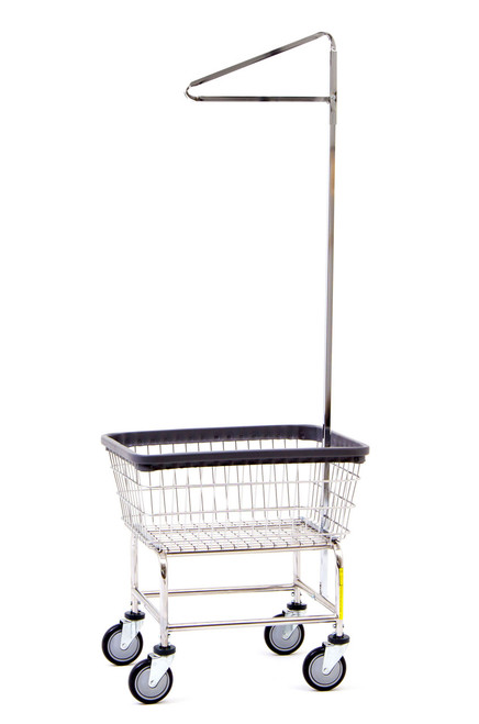 Standard Laundry Cart With Single Pole