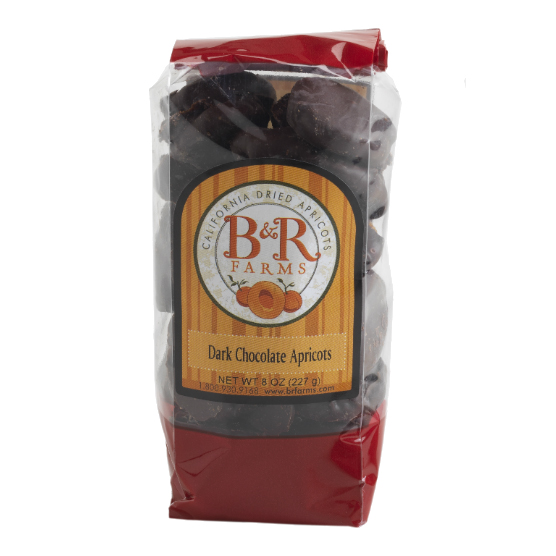 Dark Chocolate Covered Apricot Nibbles