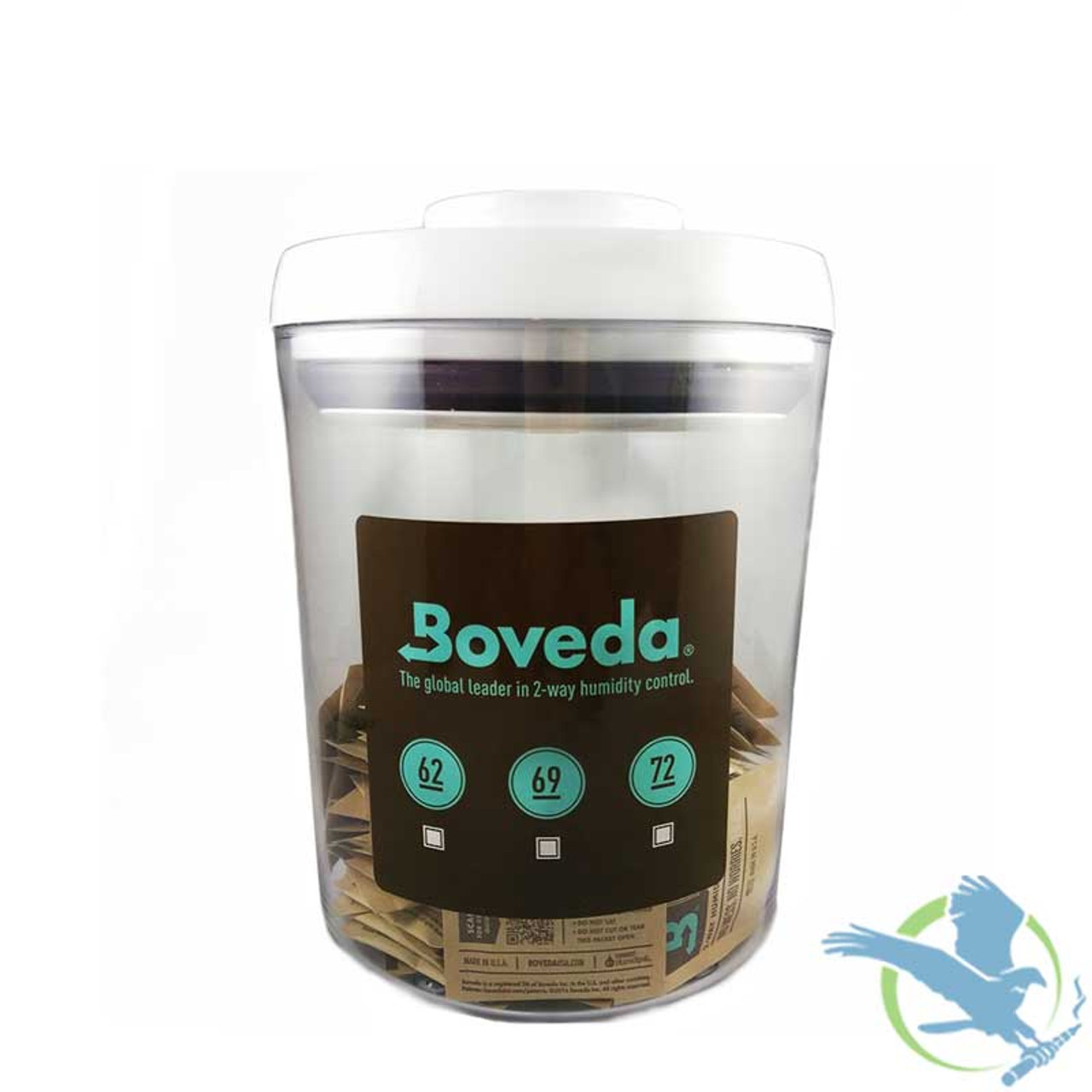 Small Boveda Humidity Control Storage Container With 100 x 4 Gram 62