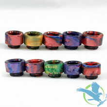 Resin Drip Tips - iJoy Captain RTA - Assorted Colors - Pack of 10 [AV-D022] (MSRP $8.00 Each)