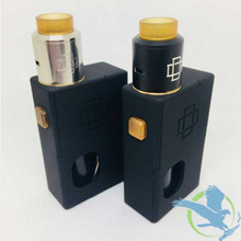 Augvape Druga Black Unregulated Squonk Starter Kit With 22MM Druga RDA (MSRP $50.00)
