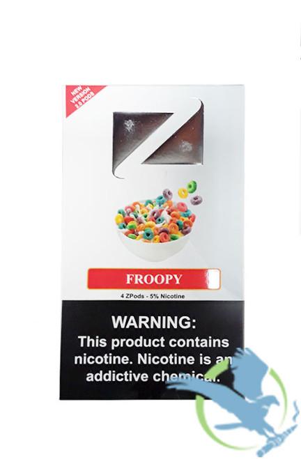 ZiiP 2.0 Nicotine Salt Replacement Pods for Juul - Display of 5 Packs