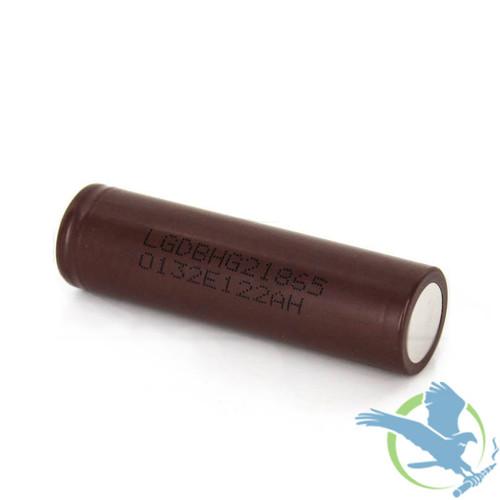 LG HG2 3000mAh SINGLE 18650 3.7V Authentic Battery (MSRP $12.00)
