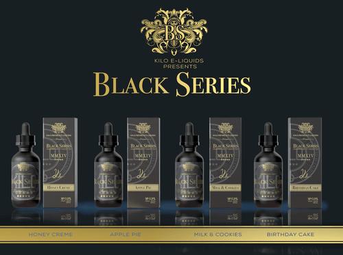 Kilo Black Series E-Liquid 60mL (MSRP $20.00)
