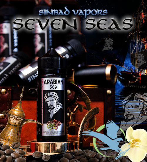 Seven Seas By Sinbad Vapors E-Liquid 120ML *Drop Ships* (MSRP $30.00)