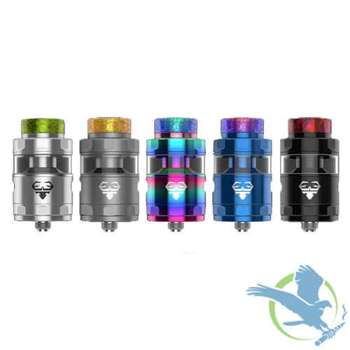 GeekVape Blitzen 2ML/5ML 24MM Postless RTA (MSRP $45.00)