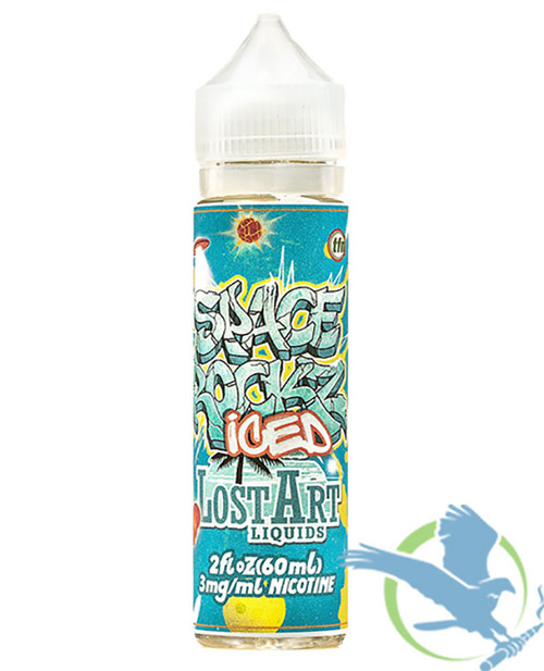Space Rockz Iced TFN E-Liquid By Lost Art 60ML (MSRP $15.00)