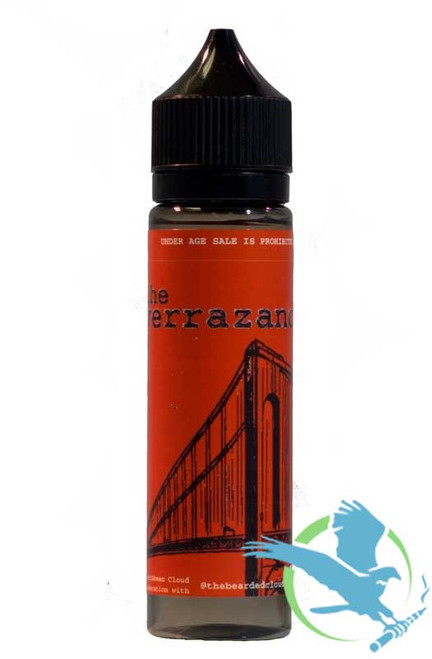 Verrazano By Caribbean Cloud Company E-Liquid 60ML *Drop Ships* (MSRP $20.00-$25.00)