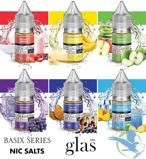 Basix Series Nicotine Salt E-Liquid By Glas 30ML