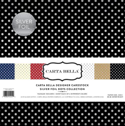 Silver Foil Dots